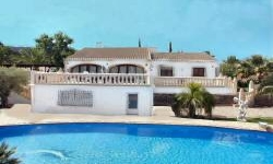 Casa Bonita villa for rent in Javea near golf course