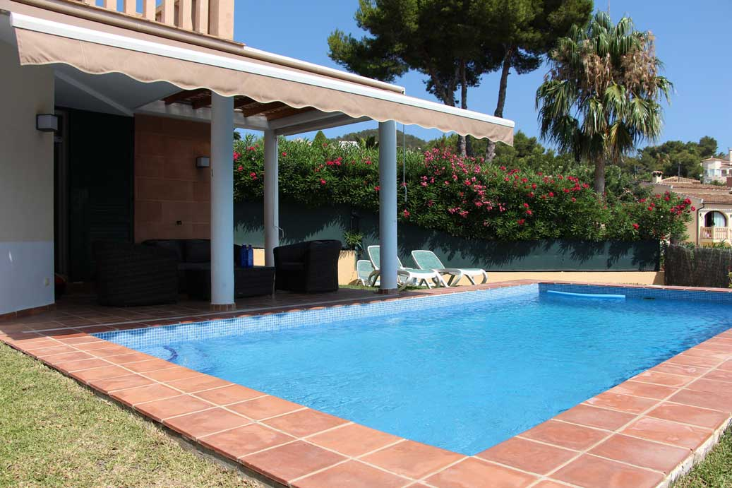 Casa Cielo Azul 4 bedroom villa in Javea to rent