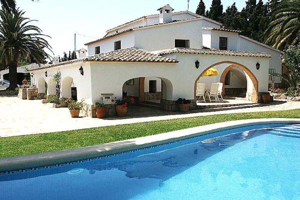 Los Almendros - 6 bedroom villa in Javea with wifi