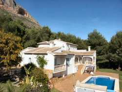 Casa Barranca - Javea villa with A/C