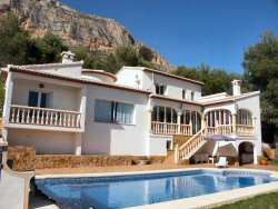 Javea villa with aircon