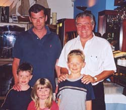 Terry Venables in Javea