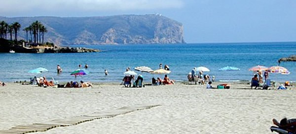 click here for more about Javea Arenal Beach