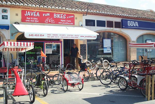 Javea bike rental