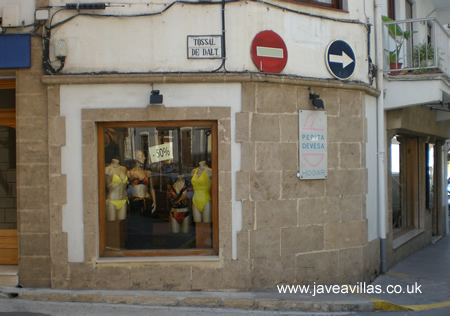 Pepita Devesa Lingerie & Swimwear shop in Javea