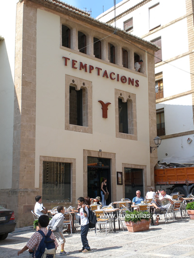 Javea Old Town Temptacions Bar