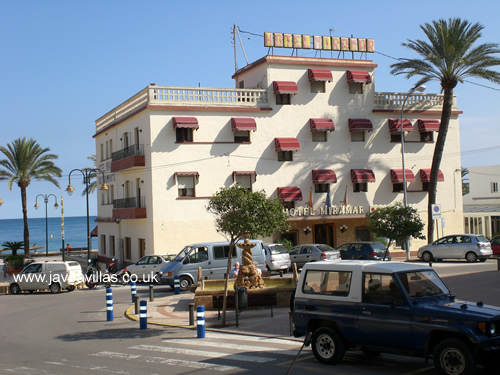 Hotel Miramar in Javea - click for a larger picture
